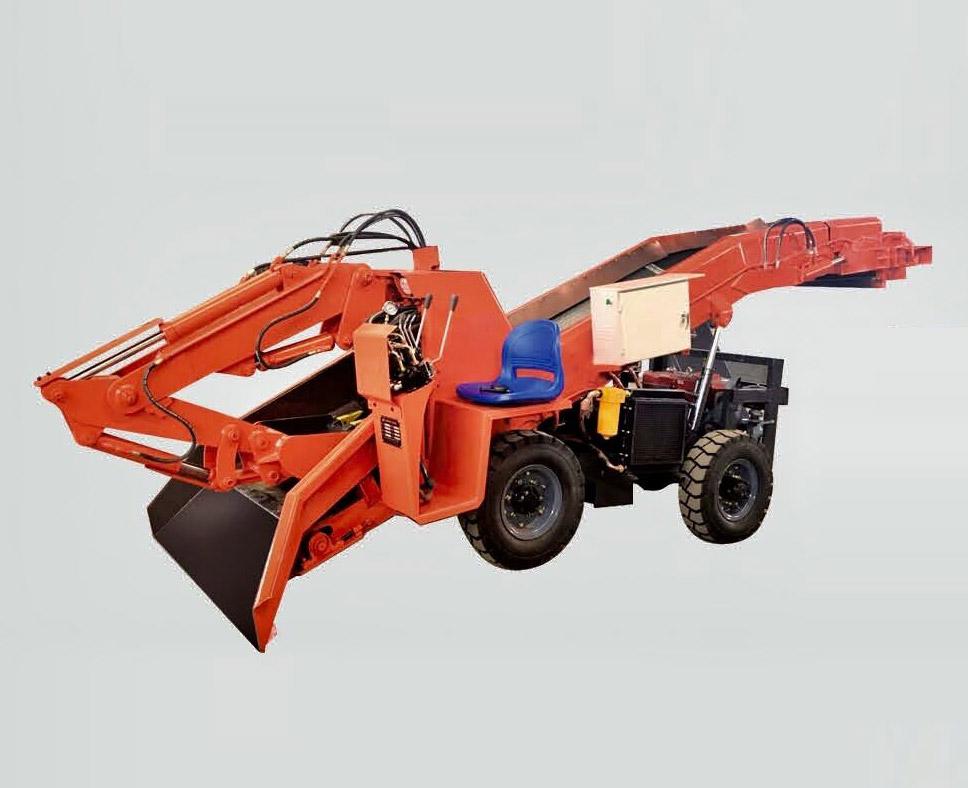 ZWY-60/15T轮胎式扒渣机
