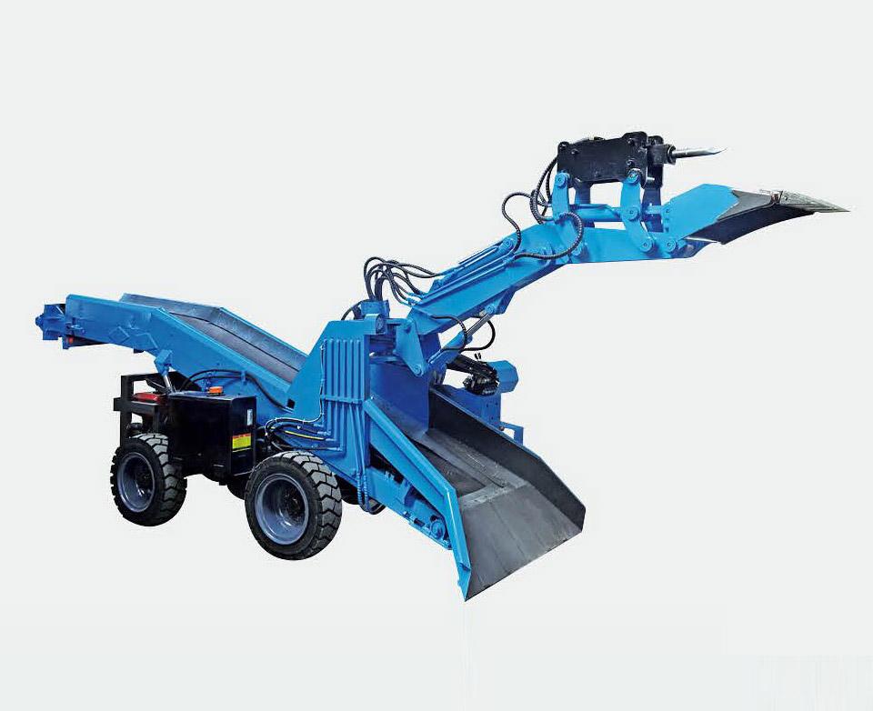 破碎扒渣一体机系列轮胎背投式/直立式