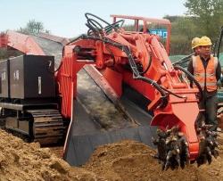 铣挖扒渣一体机系列履带式铣挖机